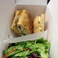 Photo taken at Sandwich Box by Claudia on 12/4/2012
