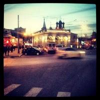 Снимок сделан в Таганская площадь пользователем Irene L. 3/11/2013
