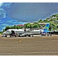 Photo taken at Martinique Aimé Césaire International Airport (FDF) by Наталья П. on 5/10/2013