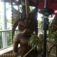 Photo taken at Tiki's Grill & Bar by Veronika K. on 4/25/2013