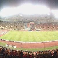 Photo taken at Stadium Mini Shah Alam by Saiful Adzri on 10/30/2016
