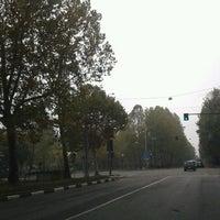 Photo taken at Corso IV Novembre by Chiara R. on 10/27/2012