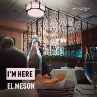 Photo taken at El Meson by Tony B. on 3/7/2014