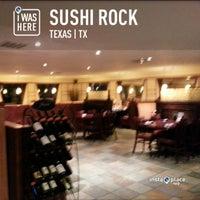 Photo taken at Sushi Rock by Tony B. on 4/13/2013