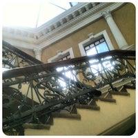Photo taken at Biblioteca Municipal by Crisduman B. on 1/12/2013