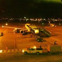 Photo taken at José Joaquín de Olmedo International Airport (GYE) by Crisduman B. on 6/15/2013