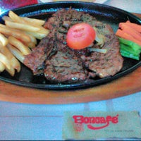 Photo taken at Boncafe Steak & Ice Cream by Rhama D. on 10/5/2015