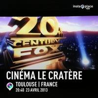 Photo taken at Cinema Le Cratère by Ludovic N. on 4/23/2013