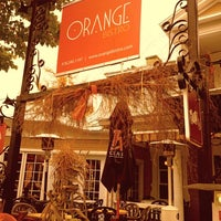 Photo taken at Orange Bistro by Simon M. on 10/14/2013