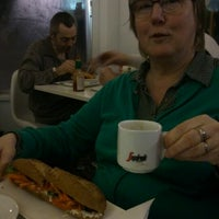 Photo taken at Le Pain Total by Nina V. on 2/1/2015