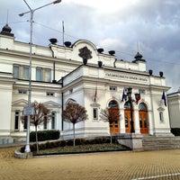 1/16/2013 tarihinde Metodiziyaretçi tarafından пл. Народно събрание (Narodno sabranie Sq.)'de çekilen fotoğraf