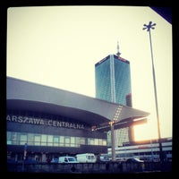 Photo taken at Warsaw Central Railway Station by Michał H. on 2/5/2013
