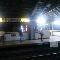Photo taken at LRT 1 (5th Avenue Station) by Vincent D. on 3/14/2013