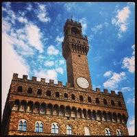 Photo taken at Piazza della Signoria by Andrea on 3/27/2013