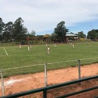 Photo taken at Polideportivo de Yhu by Stefy B. on 10/15/2017