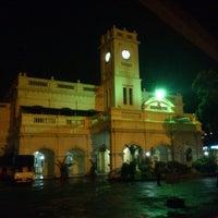 Photo taken at Maradana Railway Station by Visagan S. on 1/10/2013