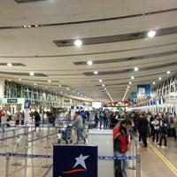 Photo taken at Comodoro Arturo Merino Benitez International Airport (SCL) by Claudio Andres on 7/11/2013