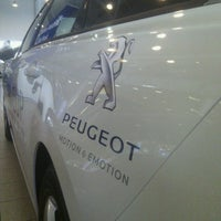Photo taken at Peugeot (AutoForte) by Ahto P. on 2/27/2013