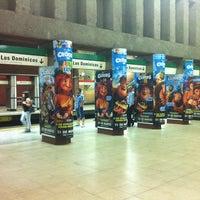 Photo taken at Metro Baquedano by Wladimir S. on 3/17/2013
