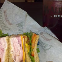 Photo taken at McAlisters Deli by Trix F. on 9/27/2012