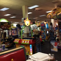 Photo taken at Chuck E. Cheese's by Deborah on 10/20/2012