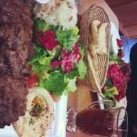 Photo taken at Cafe Falafel by Sophie on 1/2/2013