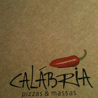 Photo taken at Calábria Pizzas & Massas by Christiane on 9/30/2012