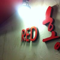 Photo taken at Red홍 by YuBin on 9/16/2012