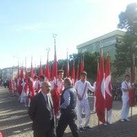 Photo taken at Liseler Caddesi Ordu by Mustafa B. on 10/29/2013