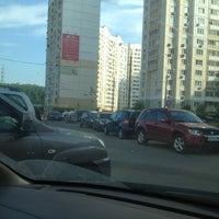 Photo taken at Парковка Павшинский бульвар 5 by Андрей on 5/27/2014