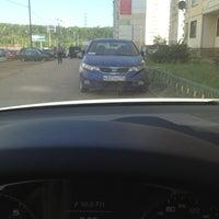 Photo taken at Парковка Павшинский бульвар 5 by Андрей on 7/9/2014