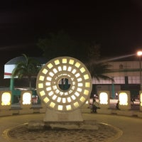 Photo taken at Parque del Centro Ceremonial Maya by Thalía K S. on 10/18/2014