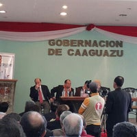 Photo taken at Gobernación  V departamento Caaguazú by Fernando B. on 7/31/2014
