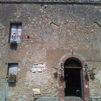 Photo taken at Ristorante Romitaggio S. Guglielma by Harri on 7/4/2013