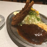 Photo taken at レストラン ハッスル by NOBU K. on 7/21/2017