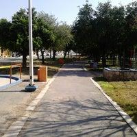 Photo taken at Parque República Mexicana by Alan L. on 8/2/2013