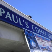 Photo taken at Paul's Coffee Shop by Marcie T. on 2/23/2013