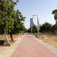 Photo taken at Al Corniche Walk by Doaa B. on 5/21/2013