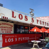 Photo taken at Los Cinco Puntos by Offbeat L.A. on 6/6/2016