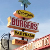 Photo taken at George's Burgers by Offbeat L.A. on 3/23/2017