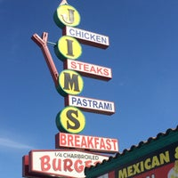 Photo taken at Jim's Burgers by Offbeat L.A. on 4/4/2016