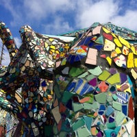 photo taken at mosaic tile house by offbeat la on 762015 - Mosaic Tile House 2015