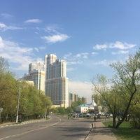 Photo taken at Михневская улица by Nastya K. on 5/3/2016