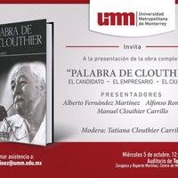Photo taken at Universidad Metropolitana de Monterrey by Annia G. on 10/5/2016