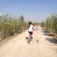 Photo taken at Puente de Urrutia by Diana G. on 4/13/2014