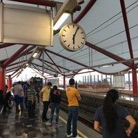 Photo taken at Metrorrey Estación Anáhuac by Milton M. on 1/31/2016
