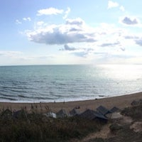 Photo taken at Hordle Cliff West by Nathan S. on 8/20/2014