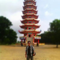 Photo taken at Pagoda pulau kemarau by Hendrian P. on 3/2/2013