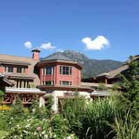 Photo taken at Nita Lake Lodge by Jonathan C. on 7/19/2013