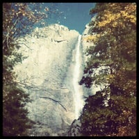 Photo taken at Lower Yosemite Falls by Xochitl Elizabeth on 11/30/2012